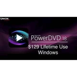 4K DVD Player 影音好幫手 PowerDvd18 極致版 藍光 VR 360片 Blueray
