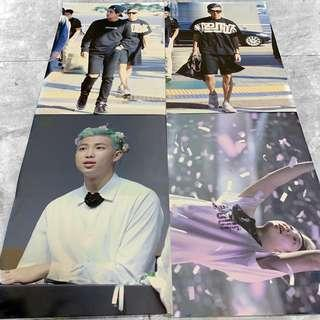 [WTS] BTS Loose Fansite Merch (Posters)