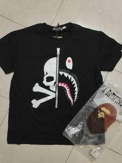 Bape Shark x Mastermind Japan S/S Tee (Ready stock )