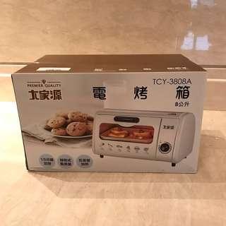 【大家源】電烤箱8公升 (TCY-3808)