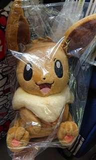 Pokemon Center 限定 伊貝 1:1 毛公仔