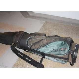 SLAZENGER branded golf bag Good Conditions selling cheap