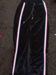 Velvet Strip pant