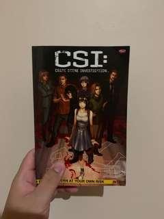 CSI Intern at Your Own Risk [BAHASA]
