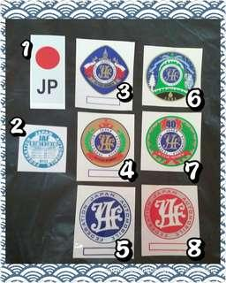 JAF Japan Automobile Federation Sticker
