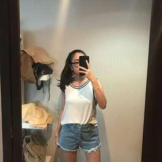PULL&BEAR white top