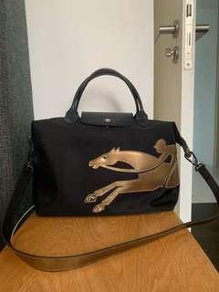 Longchamp Cavalier Tote Limited Edition Year of Horse