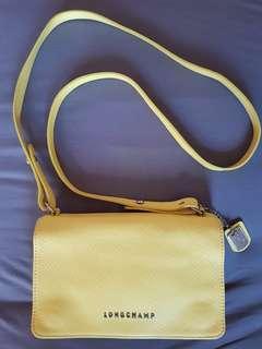 Authentic Longchamp Slingbag Yellow