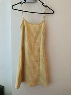 Topshop Mini Pinafore Dress