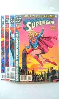 🚚 DC Comic - Supergirl Vol. 3, #1 - #4 Complete Miniseries