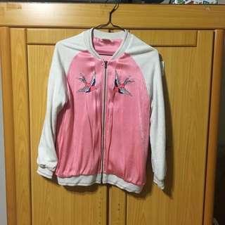 🚚 Zara 刺繡 棒球 外套