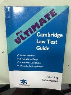The Ultimate Cambridge Law Test