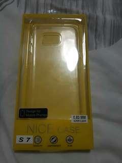 🚚 SAMSUNG S7 SUPER CLEAR CASE