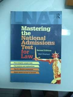 Mastering the national admissions test for law mark shepherd