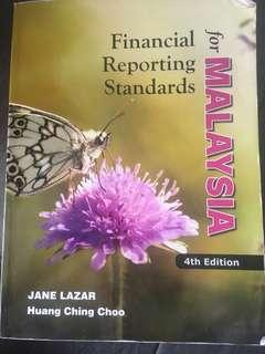 Financial reporting standards for malaysia. 4th edition