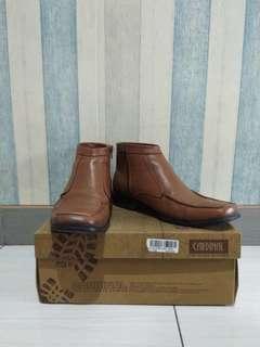 Sepatu Boots Asli Kulit