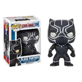 Funko POP Marvel Captain America 3 Civil War Action Figure - Black Panther
