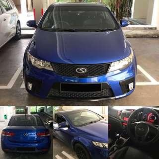 Kia Forte Koup 1.6 SX Manual
