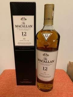 Macallan 12 Years Sherry Oak Single Malt Whisky