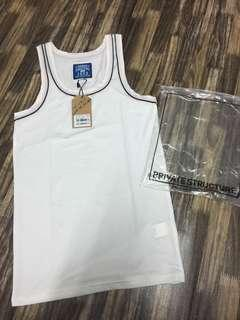 Private structure tank top