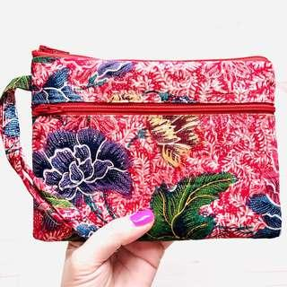 🚚 Batik Everyday Wristlet Handmade in Singapore