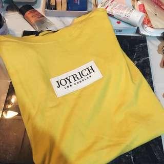 Joyrich 黃色LogoT