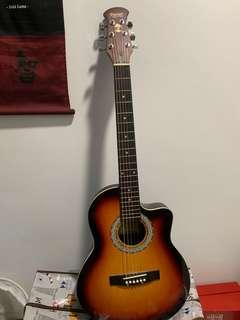 Acoustic Guitar rounded back