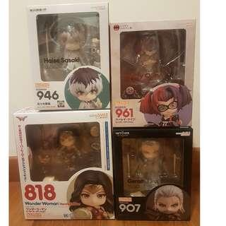 🚚 Attractive Good Smile Nendoroids, Brand new, selling off my extras