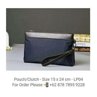 Leather Pouch - Clutch - LP04