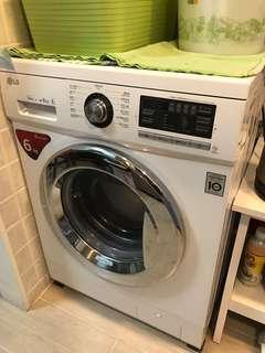 LG WF-NP1006MW 洗衣機 6KG ,西環自取 10年保用