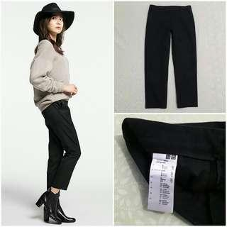 UNIQLO Cropped Pants (Black JP 58)