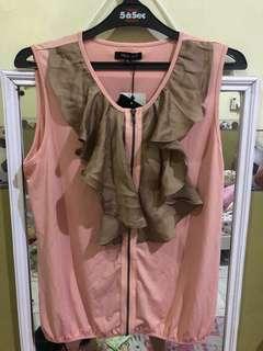 Pink Brown top