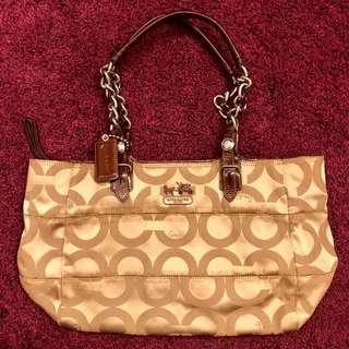 Coach Handbag D0968-14134 Authentic