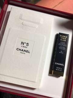Chanel Paris - N5 L'EAU / Rouge Coco Flash