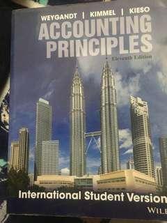 Accounting Principles 11th edition