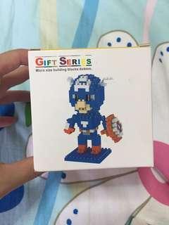 🚚 Nanoblock lego marvel