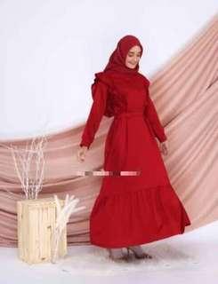 Naura Dress (Red)