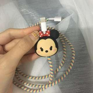 Pelindung cable tsumtsum minnie