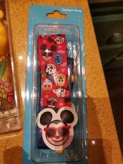 Disney Mickey Minnie Donald Duck Camera Strap 相機頸繩