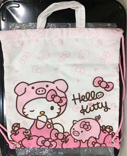 🚚 Hello kitty 揹/提兩用袋(7-11 豬年限定)