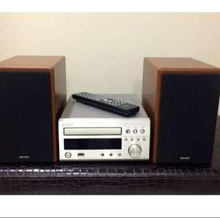 $200 Fast Deal Denon RCD-M38 Micro HiFi.