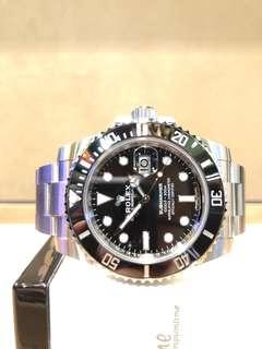 Brand New Rolex Oyster Submariner 116610LN Black Dial Automatic Steel Casing Bracelet