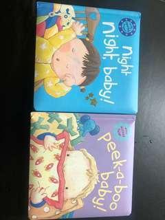 Night night baby, peekaboo books