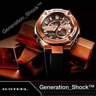 🚚 BEST🌟SELLING in GSHOCK DIVER SPORTS WATCH : 1-YEAR OFFICIAL WARRANTY : 100% ORIGINAL AUTHENTIC G-STEEL G-SHOCK : Best Gift For Most Rough Users: GST-210B-4A / GST210B-4 / CASIO / GSTEEL / G-STEEL / GSHOCK / WATCH