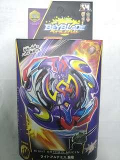 Right artemis mugen c/w holder - Beyblade battle series