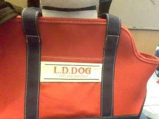紅色寵物袋