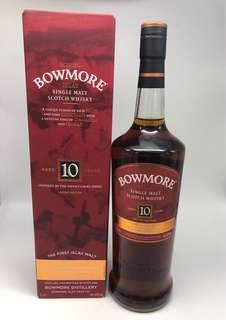 Bowmore 10 devils cask series 1000ml 英文版 俗稱小魔鬼