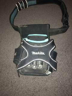 Maktia tool pouch and Velcro belt