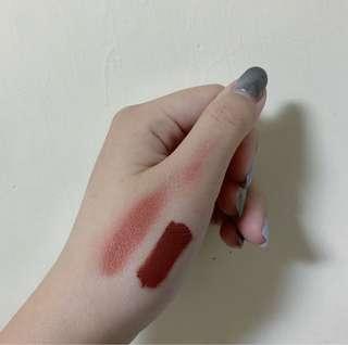 🚚 (二手9.9成新)Colourpop 霧面液態唇膏_ultra matte lip_色號Love Bug_紅棕色
