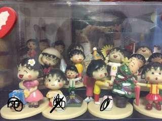 🚚 Chibi Maruko-chan figurine set